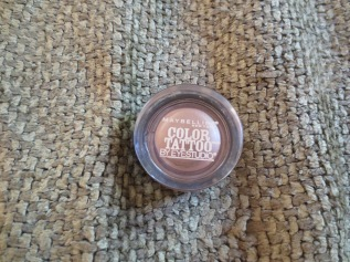Maybelline New York Color Tattoo by Eyestudio in 25 Bad to the Bronze